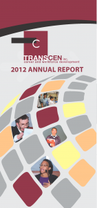 TransCen Annual Report